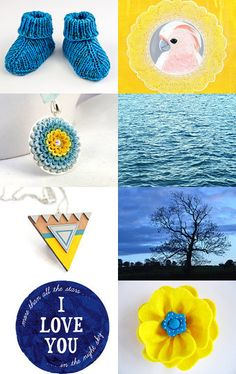 blue and yellow... --Pinned with TreasuryPin.com