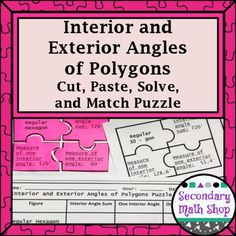 1000 Ideas About Regular Polygon On Pinterest Exterior Angles Geometry Interactive Notebook