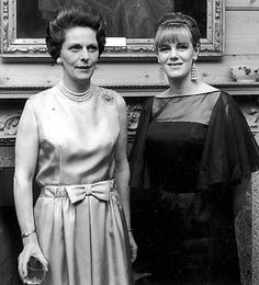Then Camilla Shand was working for Colefax and Fowler in Mayfair in the mid-1960s. Picture...