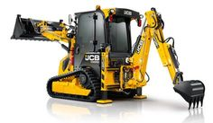 Backhoe on Tracks: JCB to Release Unique Backhoe Loader to the United States Heavy Construction Equipment, Heavy Equipment, Trade Show Flooring, Residential Contractor, Chevy, Gooseneck Trailer, 3d Modelle, Compact Tractors, Mini Excavator