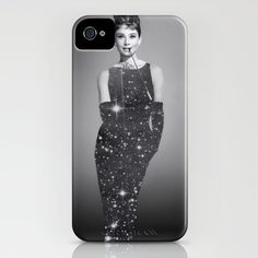 Audrey Hepburn iPhone Case by L.B & E.B - $35.00