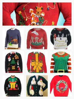 Favorite Tacky Christmas Sweaters