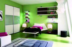 Green Room Ideas for Teen Girl 916x600