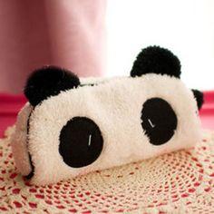Kawaii bonito 3D panda de pelúcia caixa de lápis de grande capacidade escola suprimentos artigo noverty para crianças multifuncional frete grátis 0017 em Estojos de Office & School Suprimentos no AliExpress.com | Alibaba Group