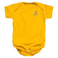 STAR TREK COMMAND UNIFORM Baby Snapsuits