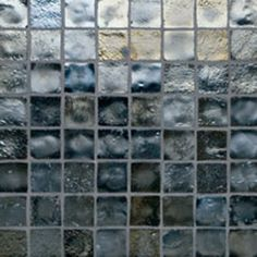 Glass Mosaic- PEWTER047IRIDESCENT