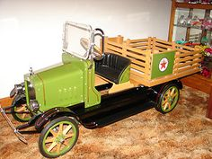 *ANTIQUE PEDAL CAR ~ Truck, King Kraft