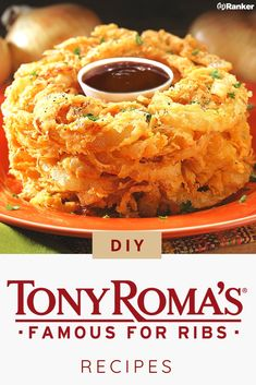 Tony Roma's rib recipe is delicious. Here is an easy Tony. Tony Roma's rib recipe is delicious. Here is an easy Tony Roma rib copycat - Onion Recipes, Rib Recipes, Side Dish Recipes, Great Recipes, Cooking Recipes, Favorite Recipes, Veggie Dishes, Vegetable Recipes, Onion Loaf