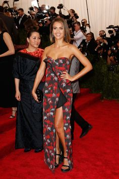 Jessica Alba in Kenzo. Photo: Getty Images