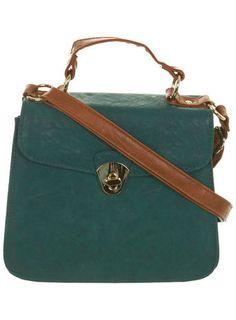 Contrast Smart Across Body Bag - Bags