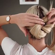 33 Fancy Hairstyles That Are Perfect for Special Occasions Do you have a special occasion coming up? Whether it be prom, a party, or a wedding, special occasions often require fancy hairstyles. However, fancy hairstyles are no longer restricted…View Post Work Hairstyles, Pretty Hairstyles, Braided Hairstyles, Hair Upstyles, Special Occasion Hairstyles, Great Hair, Hair Videos, Hair Today, Hair Hacks