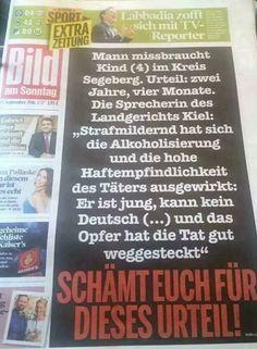 Alkoholisierung, Haftempfindlichkeit und fehlende Deutschkenntnisse als Gründe für Strafmilderung!!! Mad World, Political Satire, Love Culture, So True, Islam, Real Life, Germany, Politics, Lol