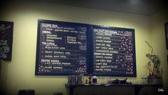 Bird Pick tea bar menu