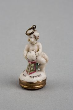 LavishShoestring.com | Seal        Place of origin:        London, England (made)      Date:        ca. 1749-1754 (made)      Artist/Maker:        Charles Gouyn's factory (manufacturer)      Materials and Techniques:        Porcelain painted with enamels, and with a carnelian intaglio and gold mounting