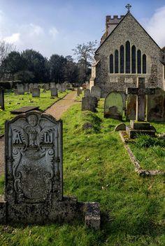 Ockham Church, Surrey, England by tonybill on Flickr — FUCKITANDMOVETOBRITAIN