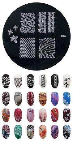 *tengo* Lace design, plate m57 (usé esta chapita para pintarme las uñas el dia de mi casamiento ❤️)