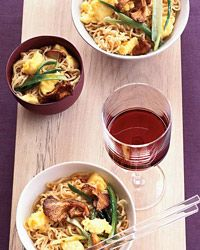 Stir-Fried Noodles with Chanterelles Recipe on Food & Wine