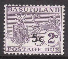 BASUTOLAND 1961 SgD7a TYPE 11  MINT STAMP