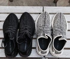 Black Yeezy Boost 350 Sneakers | Shop Online
