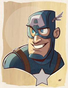 Daily Drawing: Captain America