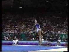 Dominique Moceanu 1996 Atlanta Olympics - Floor  My first favorite gymnast