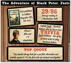 It's not incredibly popular but I LOVE the Sherlock Holmes story - The Adventure of Black Peter. Here's some trivia!