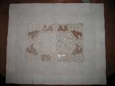 Napkin's lace free embroidery design 2 - Lace and FSL free embroidery designs - Machine embroidery community