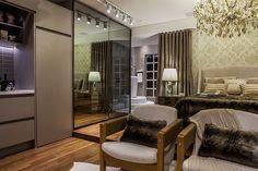 Divulgação Lofts, Small Spaces, Sweet Home, Curtains, Bedroom, Furniture, Design, Home Decor, Centenario