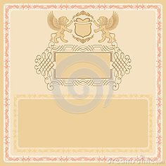 Vintage background, useful for certificate
