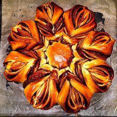 Nutella Star Bread [Homemade] #food #foodporn #recipe #cooking #recipes #foodie #healthy #cook #health #yummy #delicious