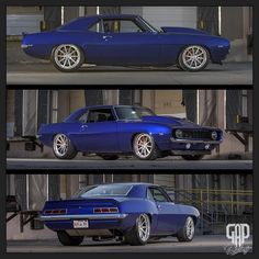 Here are a few different views of Glen\'s 1969 Camaro we debuted at Goodguys in Fort Worth. It\'s rolling on Forgeline Motorsports RB3C wheels (19/20) @wilwooddiscbrakes 14\
