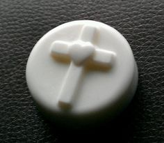 Sweet Blessings  Cross Guest Soap by waterclosetsoap on Etsy, $15.00