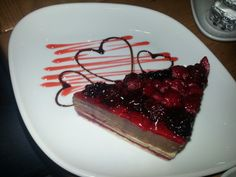 New York Cafe & Food, ther is very yummy choces and this desert is so devine