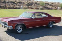 1966 CHEVROLET IMPALA SS  - Side Profile - 201373