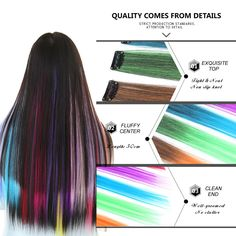 Multi Colours Non-toxic Unisex Hair Chalk Uk Temporary Commodities Are Available Without Restriction Hair Chalk