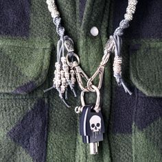 Gastyk® Covers news; Macramè Keyring necklace and key cover aluminum black anodized for all Harley-Davidson models. Gastyk Covers I'ts not just a brand. It's a Lifestyle. http://www.gastykcovers.com/en/ #gastykcovers #necklace #aluminum #laserprinter #nomoreplastic #skull #harleydavidson #motorcycles #lifestyle #fashion #style #rider #bikers #bikelife #madeinitaly #macramé #walletchain #keyring #cool