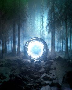 Daily Renders 2018 on Behance Arte Sci Fi, Sci Fi Art, Fantasy Art Landscapes, Fantasy Landscape, Fantasy Concept Art, Fantasy Artwork, Futuristic Art, Fantasy Setting, Blender 3d