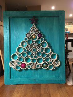 Christmas wall art.