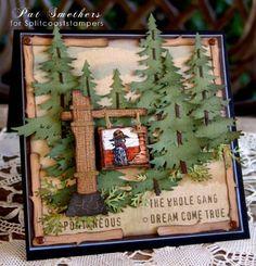 Die Cuts and SU Wild Wild West Stamp Set