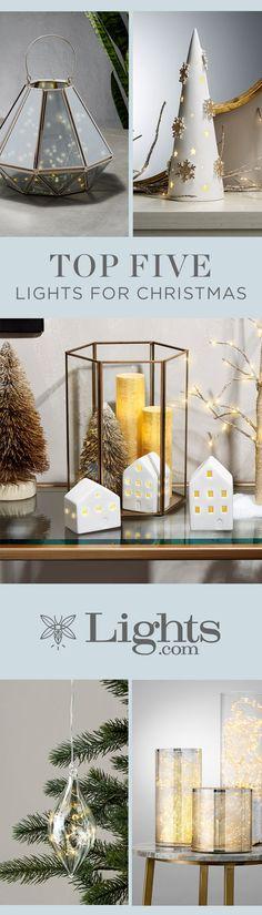 Top Five Lights for Christmas