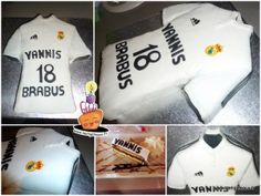 Gâteau Maillot du Real Madrid - Real Madrid Jersey Cake