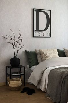 Awesome bedroom decoration are available on our website. Have a look and you wont be sorry you did. Modern Bedroom Decor, Modern Decor, Living Room Bedroom, Master Bedroom, Man Room, Stylish Home Decor, Cozy Place, Awesome Bedrooms, Dream Decor