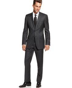 Charcoal Grey Suit.