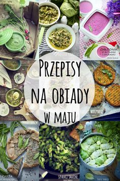Przepisy na obiady w Maju Diet Recipes, Recipies, Healthy Recipes, Clean Eating, Healthy Eating, Polish Recipes, Palak Paneer, Meal Prep, Lunch Box