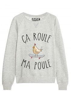 """Sweat """"Je vous déclare ma flemme"""" - New Tutorial and Ideas Cool Shirts, Funny Shirts, Tee Shirts, Outfits Niños, Fashion Outfits, Sweat Original, Message T Shirts, Look Girl, Mode Style"""