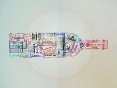 Sellos en pasaporte