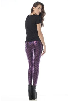 Mermaid Leggings, Fabric, Pants, Color, Fashion, Tejido, Trouser Pants, Moda, Tela