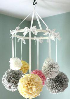 wunderschöne hängende Babyzimmerdeko