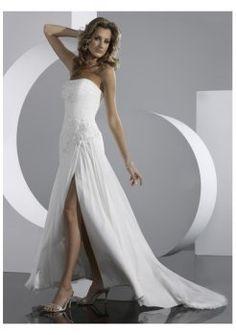 mousseline de soie à lacets robes de mariée bustier de fermeture