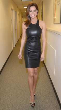 New Women Dress Lambskin Leather Fitted Designer Stylish Dress S M L - 004 Stylish Dresses, Tight Dresses, Black Leather Dresses, Leather Outfits, Leather Skirts, Hot Dress, Models, Lambskin Leather, Leather Fashion